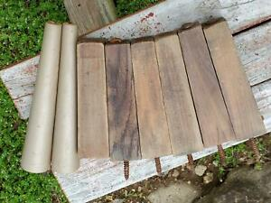 8 Vintage Mid Century Modern Solid Wood Furniture Tapered Legs Replacements
