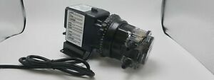 Stenner Pump 45mhp22 1 1 To 22 Gpd Adjustable 100 Psi motor And Head Only