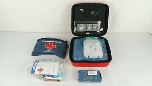 Philips M5066a Heartstart Hs1 Onsite Aed With Good Battery Exp 2021 05