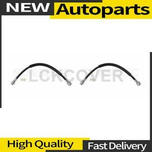 2x Brake Hydraulic Hose Front Sunsong For 1978 1981 Jeep Cj5