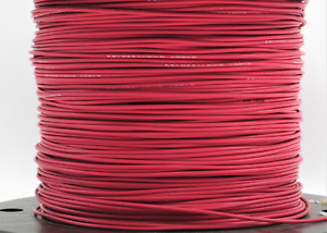 M81044 12 12 2 Red 12 Awg Tinned Copper Mil spec Made In Usa