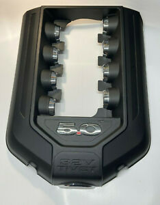 11 12 13 14 Ford Mustang Racing M 9680 M50 Engine Cover Coyote Chrome Gen 1