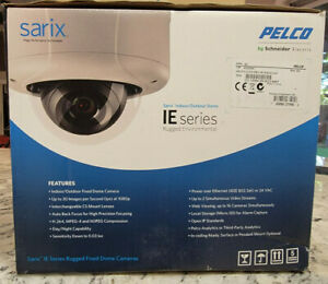 Pelco Iee20dn8 1 Sarix 2 1mp Outdoor D n Rugged Dome Ip Camera 2 8 8mm Lens