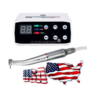 Dental Led Brushless Electric Micro Motor Internal 1 5 Contra Angle Handpiece