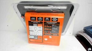 Gallagher S100 Solar Electric Fence Charger Portable Fence Energizer New