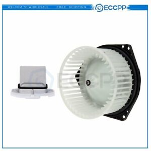 Hvac Blower Motor Resistor Kit For Infiniti I35 Nissan Maxima Front Replacement