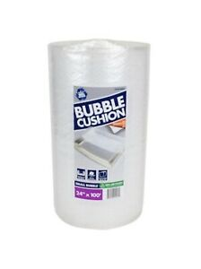 Pratt Retail Specialties 3 16 x24 c100 Ft Clear Perforated Bubble Cushion Wrap