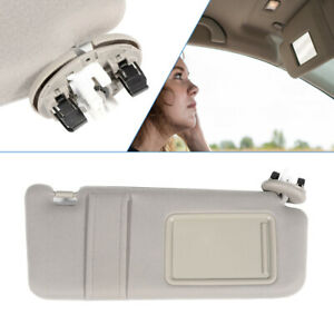 Right Passenger Sun Visor Tan Beige Fit For 07 11 Toyota Camry Withvanity Light Fits Toyota Camry