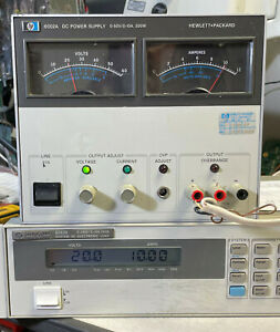 Hp 6002a Variable Dc Power Supply 0 To 50v 0 10a 200w Gpib Load Tested