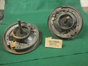 Model A Ford Front Brake Assemblies With Spindles Backing Plates Steering Arms