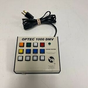 Stereo Optical Optec 1000 Dmv Vision Tester Screener Keypad Controller Only