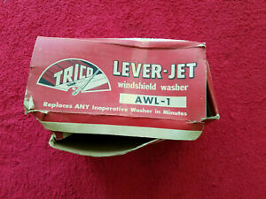 Nos 1940 S 1950 S Trico Lever Jet Windshield Washer Awl 1