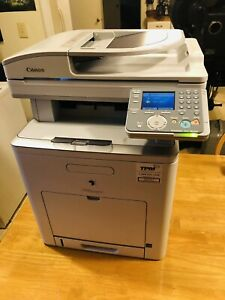 Canon Imagerunner C1030if Color B w Copy Scan Fax Machine Printer