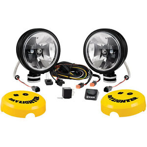 Kc Hilites 653 6 Inch Gravity Led G6 Daylighter Vehicle Lights Pair Used