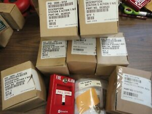 Simplex Fire Alarm Pull Stations 2099 9754 With Two Keys Rod Instructions