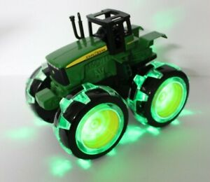 John Deere Toy Tractor With Light Up Huge 4x4 Wheels By Ertl And Tony Ex5az Uk