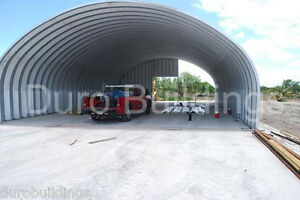 Durospan Steel 40x40x16 Metal Building Kit Ag Storage Open Ends Factory Direct