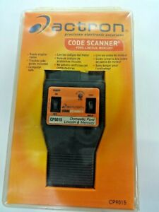 Actron Cp9015 Ford Lincoln Mercury Code Scanner Reader
