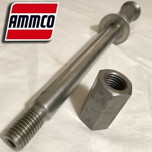 3101 Ammco 1 Arbor With 3102 Nut For 3000 4000 4100 7000 7500 7700 Brake Lathes