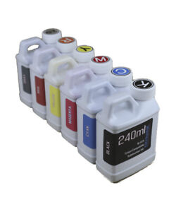 Dye Sublimation Ink 6 240ml Bottles For Epson Expression Photo Xp 15000 Non oem