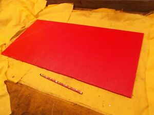 Abs Red Plastic Sheet 1 4 X 12 X 24 Textured Side Vacuum Thermoforming