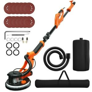 750w Drywall Sander Electric Adjustable Foldable Variable Speed Dry Wall Sanding