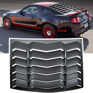 For Ford Mustang 2005 2014 Rear Window Louver Cover Windshield Sun Shade Vent