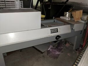 Shrink Wrap Machine X rite Model 706 Shrink Seal And Heat Tunnel
