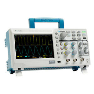 New Tektronix Tbs1052c 50mhz Oscilloscope Dso 1gs s 2 Channel Nist Calibrated