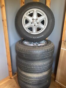 2004 16 Jeep Liberty Wheels Rims And Goodyear Tires Set Of 5 Oem