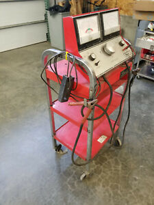 Snap On Tools Mt 552 Charging Circuit Battery Load Tester Mt552 Cart