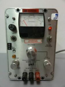 Power Designs Inc 5015t Regulated Dc Power Source