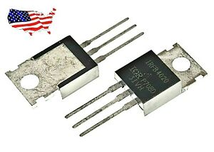 Irfb4020 5 Pcs N channel 18a 200v To 220 Power Mosfet From Us