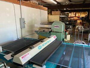 Awt Accu cure Uv Screen Printing Sign Dryer Single Phase 48in X 10ft Belt