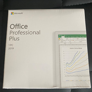 Microsoft Office 2019 Professional Plus For Windows Pc Retail Sealed Genuine New