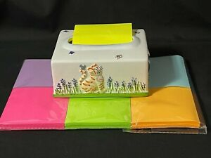 Post it Notes Popup Dispenser With Cats And Replacement Pads