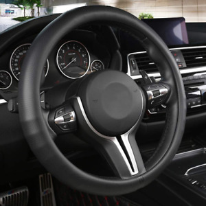 Black Panther Car Steering Wheel Cover With Grip Contours Anti slip Design 15 I