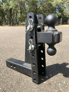Bulletproof 10 Drop Rise Heavy Duty Hitch 2 And 2 5 16