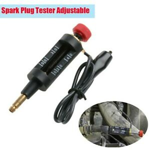 High Energy Ignition Spark Plug Tester Wire Coil Adjustable Circuit Diagnostic