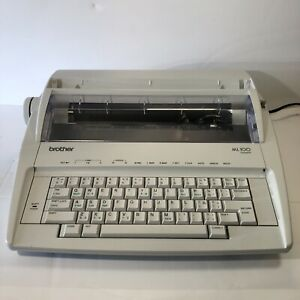 Tested Brother Model Ml100 Standard Electric Typewriter Works Looks Great