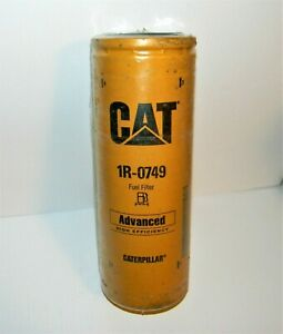 Cat Fuel Filter 1r 0749 Advanced High Efficiency new Sealed