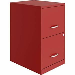 Lorell Soho Lateral File 45 Cm Red