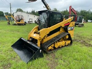 2019 Cat 299d2 Xhp High Flow Rubber Tracked Skid Steer