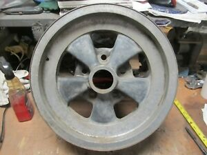 Vintage 15 X 6 Used Crager G T Single Mag Wheel 5 On 5 Chevy Van Truck Gmc