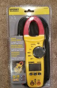 Nip Sperry Instruments Digital Clamp Meter Snap Around Dsa 500a With Bag