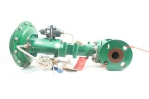 Fisher Type Ez Pneumatic Steel Flanged Control Valve 1 1 2in 300