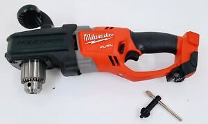 Milwaukee 2707 20 M18 Fuel Hole Hawg 1 2 Right Angle Drill tool Only
