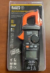 Klein Tools 600a Ac dc Auto ranging Digital Clamp Meter Cl800 Fast Free Ship