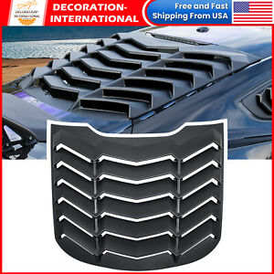 Rear Window Louver For Ford Mustang 2015 2021 Windshield Sun Shade Cover Gt Abs