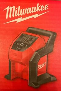 New Milwaukee 2475 20 M12 Compact Cordless Tire Inflator Bare Tool Free Shipping